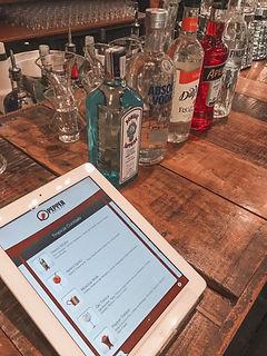 Cardápio de drinks, bar de casamento.JPG