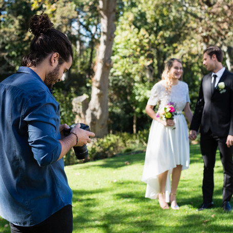 Wedding Photography For A Nervous Bride