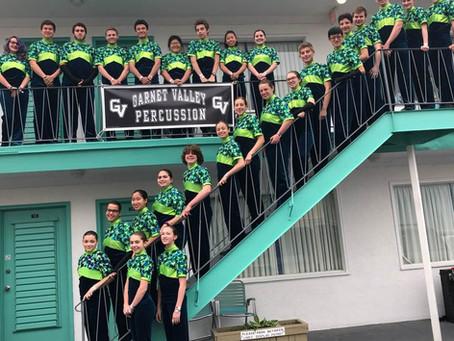GV Indoor Drumline & Guard Rock Wildwood!