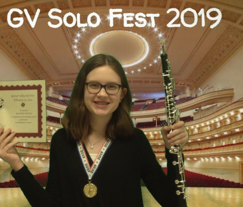 """Our Solo Fest 2019 Participants posing in """"Carnegie Hall"""""""