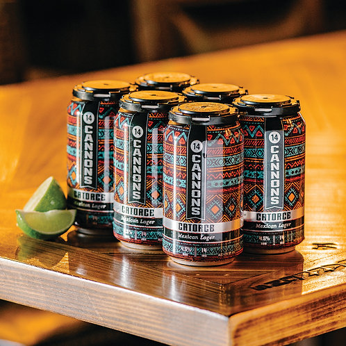 Catorce - Mexican Lager - 6 Pack - 12oz. Cans
