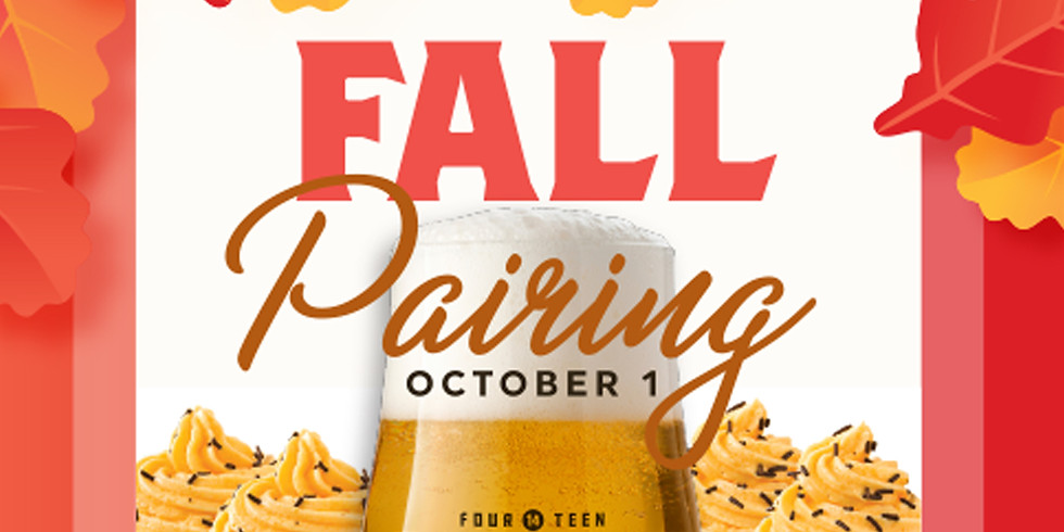 October 1 Pairing - 5 - 9pm