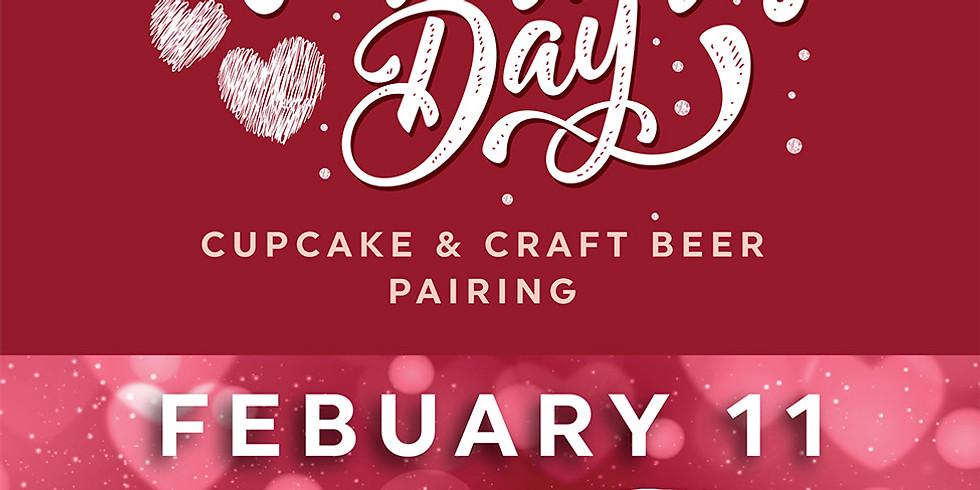 Valentine's Cupcake + Beer Pairing