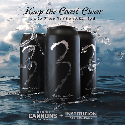 Keep The Coast Clear - 16oz 4Pack