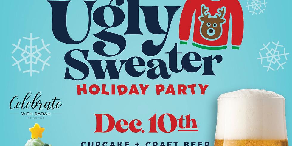 December 10th Ugly Sweater Cupcake + Beer Pairing!