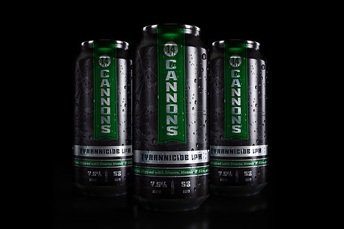 Tyrannicide - IPA - 4 Pack - 16oz. Cans