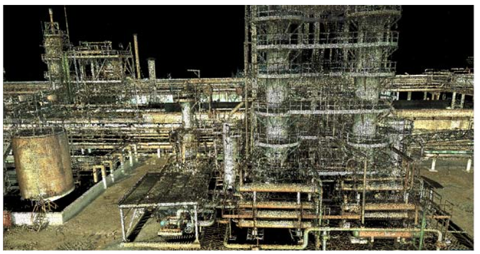 Northern Colorado LIDAR scanning, point clouds, 3d mapping, petrochemical, oil and gas surveys