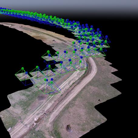 Environmental Assesment Survey using aerial data capture and pix4D