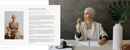 Look book for Kayla Dane Style + Design