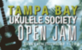 Tampa Bay Ukulele Society Open Jam