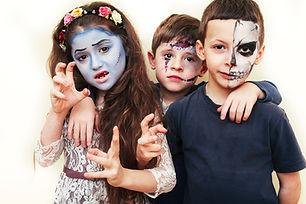 zombie apocalypse kids concept. Birthday