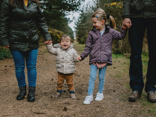 Family Photoshoot in Dunwich Forest