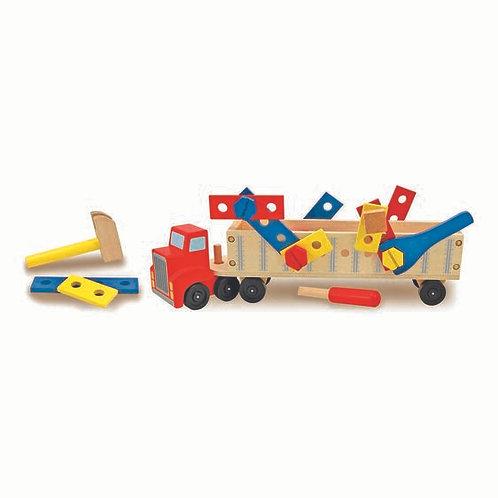 Melissa & Doug : Big Rig Building Truck