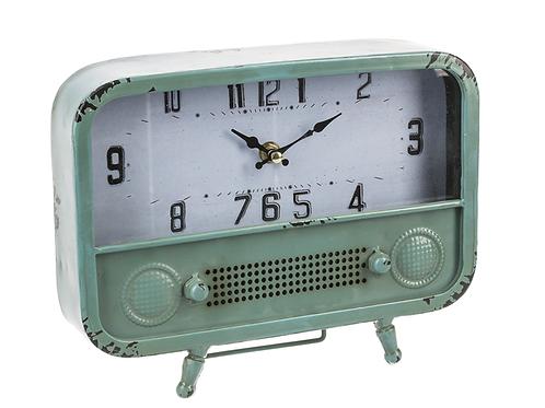 Retro Desk Clock- vintage green