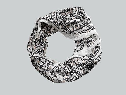 Infinity Scarf- Geometric Pattern