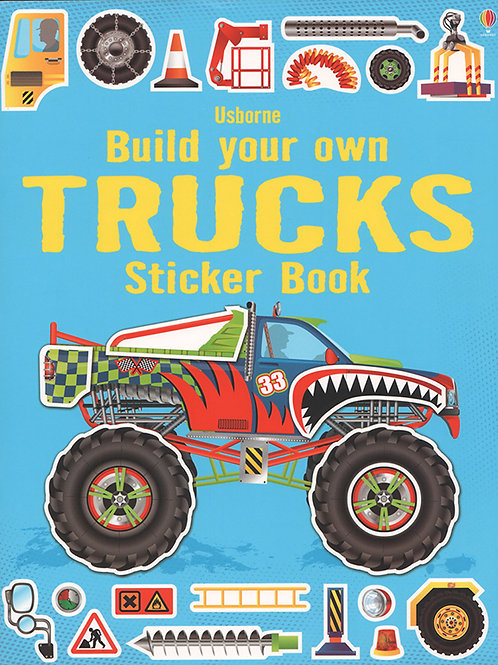 Build Your Own Truck Sticker Book