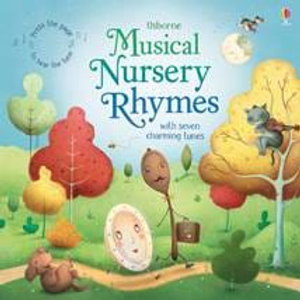 A Musical  Book of Nursery Rhymes- Baby Shower Gift