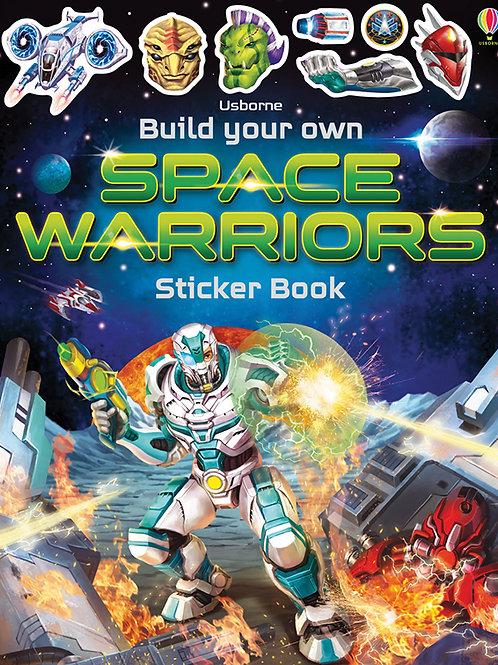 Build Your Own Space Warrior Sticker Book