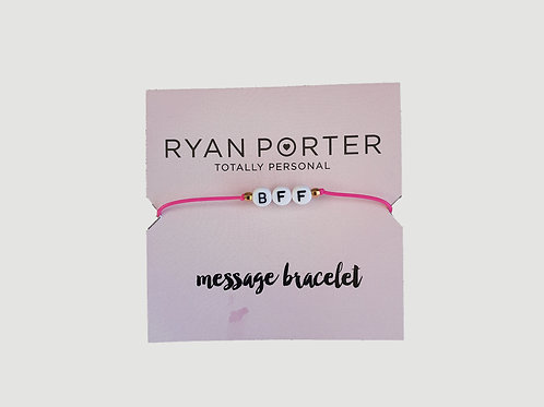 Alphabet Message Bracelet
