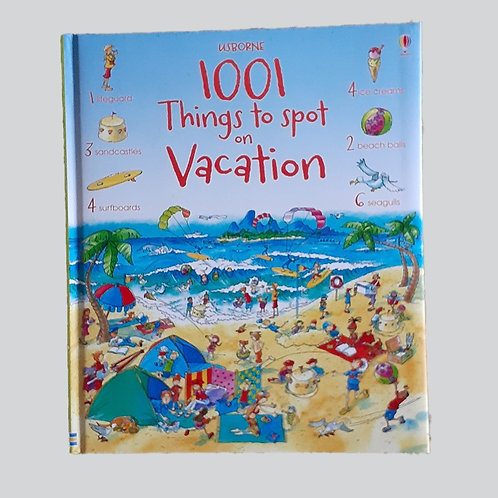 1001 Things to Find on Vacation - Book