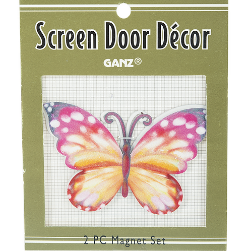 Butterfly Screen Door Decor
