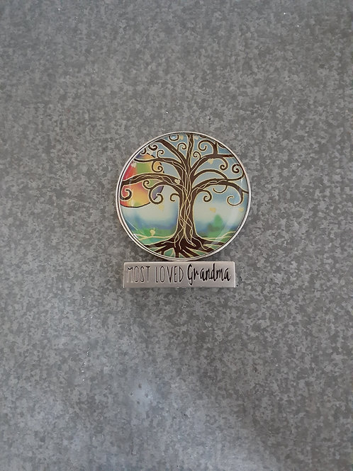 Tree of Life Tokens: Most Loved Grandma