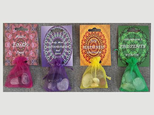 Crystal Healing Bags
