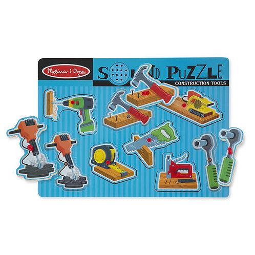 Melissa & Doug: Sound Puzzle Construction