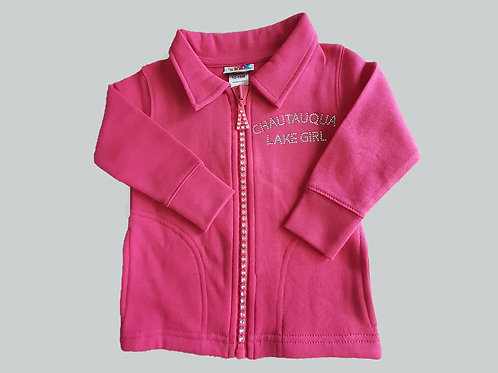 Chautauqua Lake Girl Bling Pink Jacket