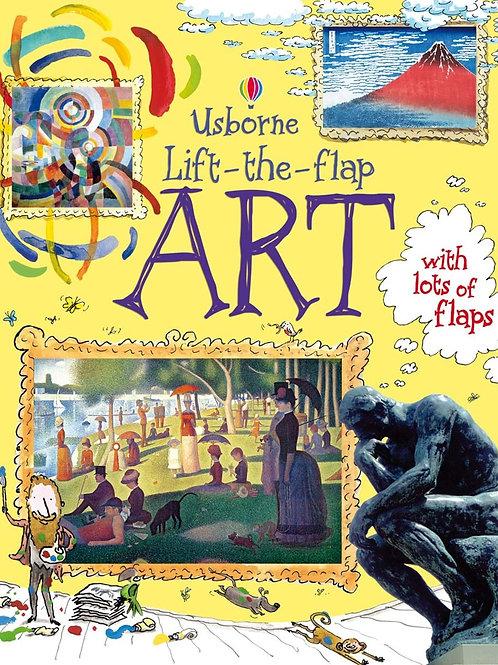 Lift the Flap Art Book