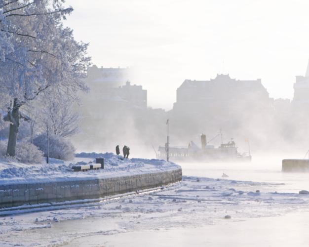 Vinterstockholm