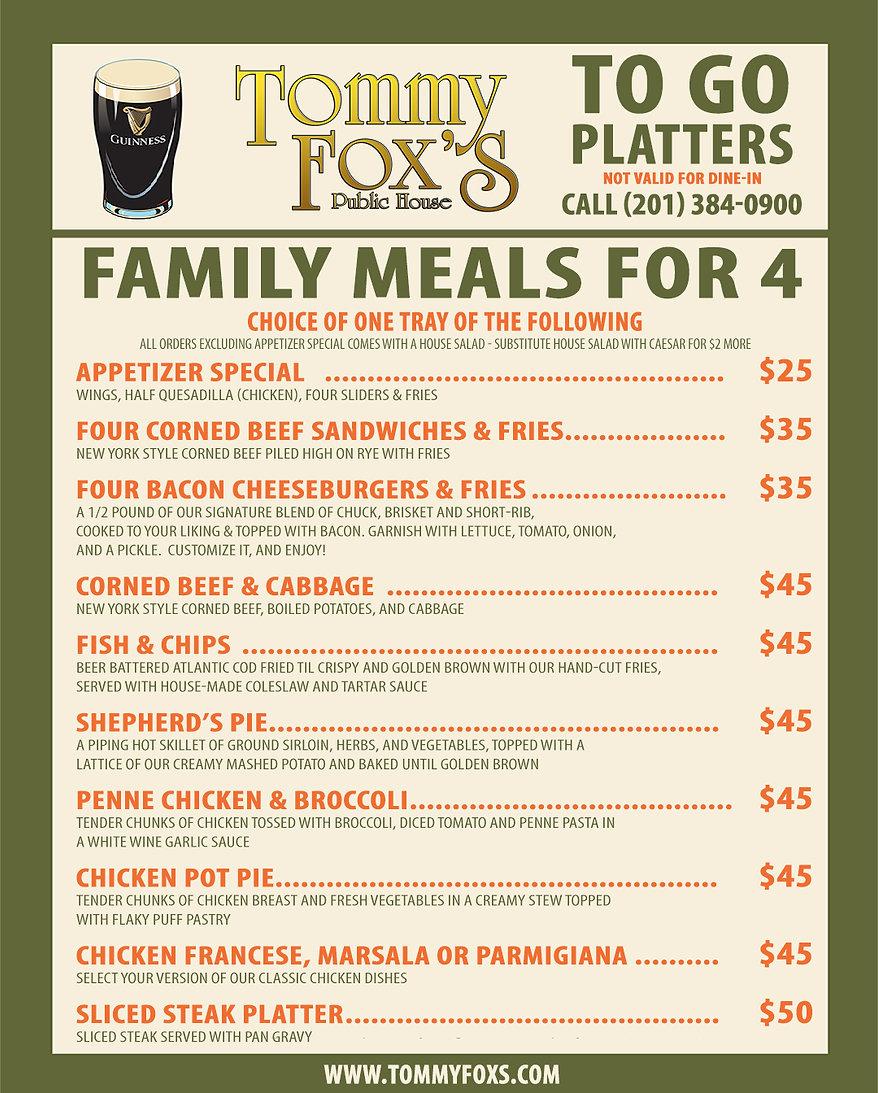 Tommy-Fox's-Dinner-for-4-Platter-To-Go--