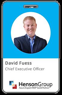 David Fuess, CEO at Henson Group
