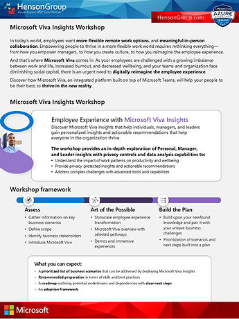 Henson Group - Microsoft Viva Insights Workshop Flyer.jpg