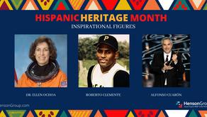 Hispanic Heritage Month: Inspiring Figures
