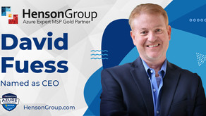 Henson Group Announces Appointment of New CEO David Fuess