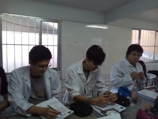 9° ano B - Aula de Ciências
