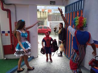 Carnaval - Recepção aos Alunos do Infantil Tarde