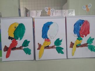 Aula de Arte - Infantil II