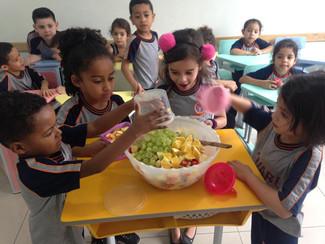 Salada de frutas - Infantil I B