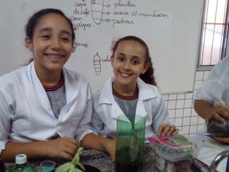 6° ano B - Aula de Ciências com a Prô Marta