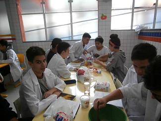 1° ano do Ensino Médio - Produção de pão, fermentação alcoólica.
