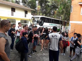Passeio dos alunos de Fund II e Médio para Chácara Villa da Fonte - Suzano