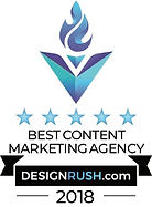 Design Rush Badge Best Content Marketing