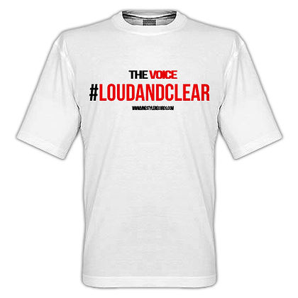 #loudandclear T-Shirt