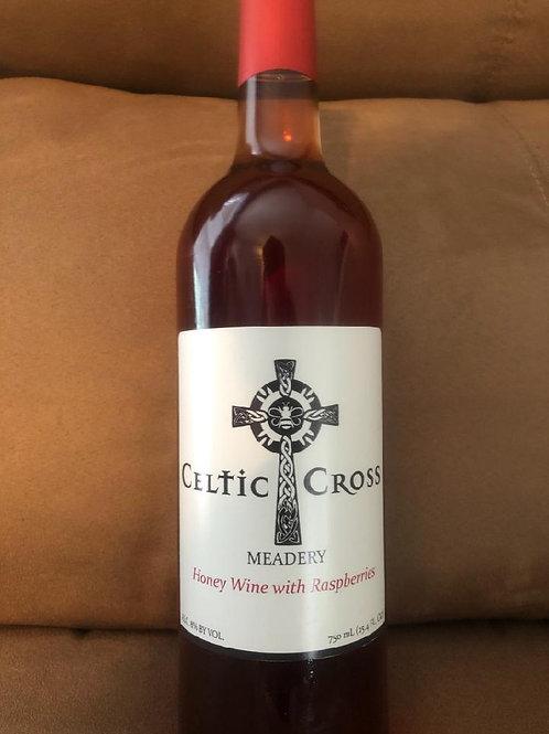 Honey Wine with Raspberry