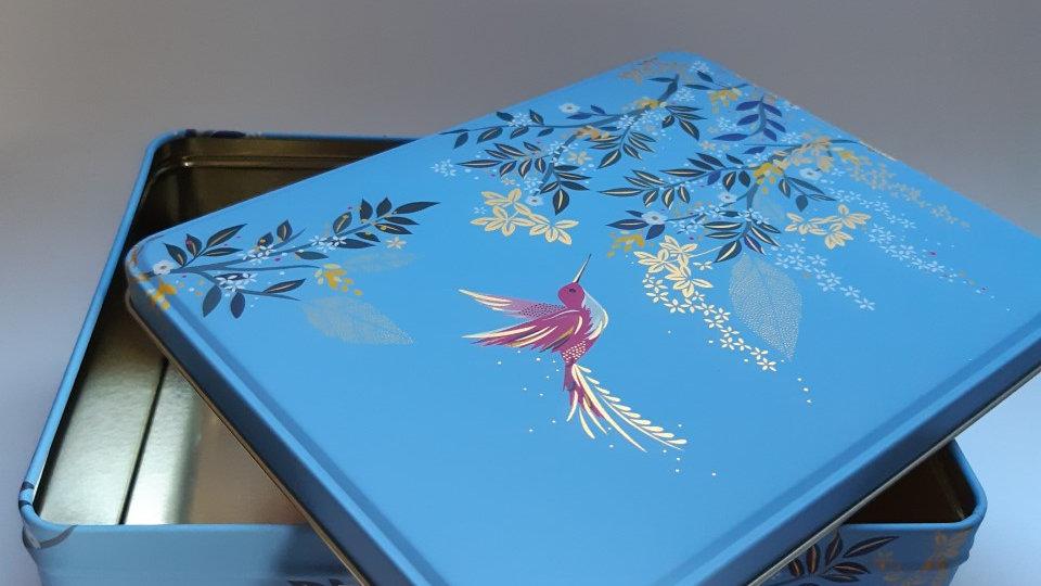Blue Sky Tin with Handmade Chocolate Selection