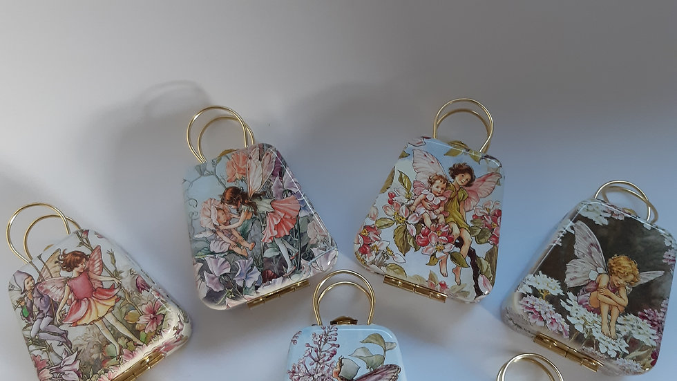 Flower Fairy Gift Tin with Chocolate Mouse or Frog