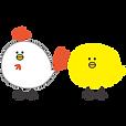 ニワトリとヒヨコ.png