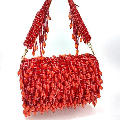 Red Victoria Clutch
